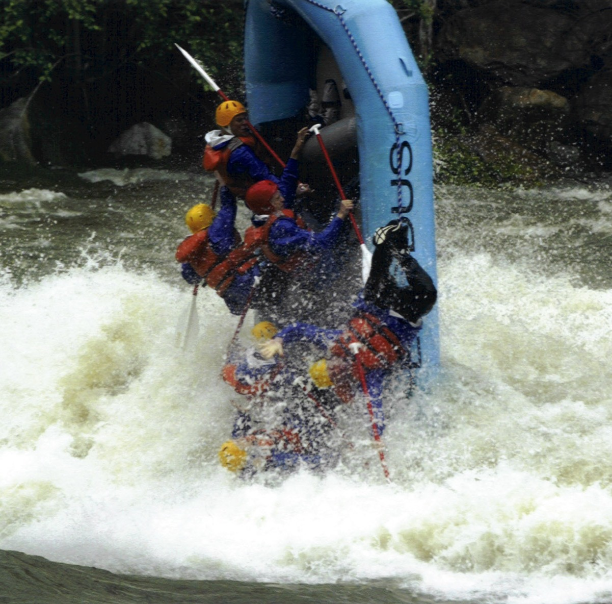 Bigwater Blowout River Festival offers the thrill of high-water rafting