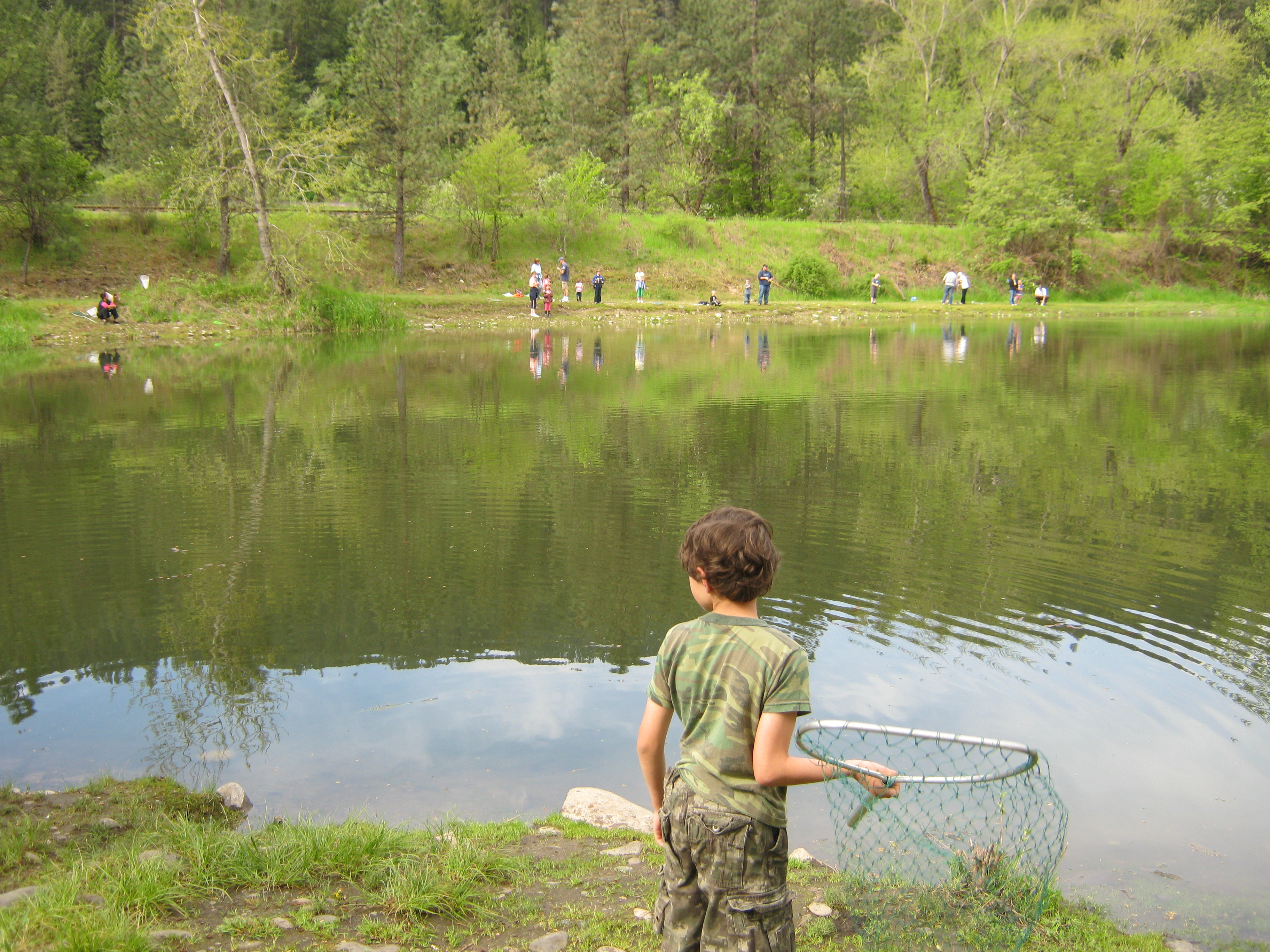 Kids can learn to fish for free Saturday at Tunnel Pond