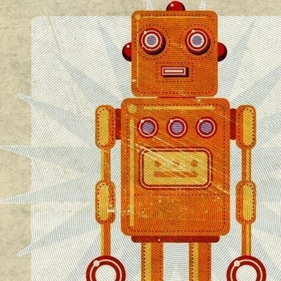Summer art for kids: recycled robots and collage