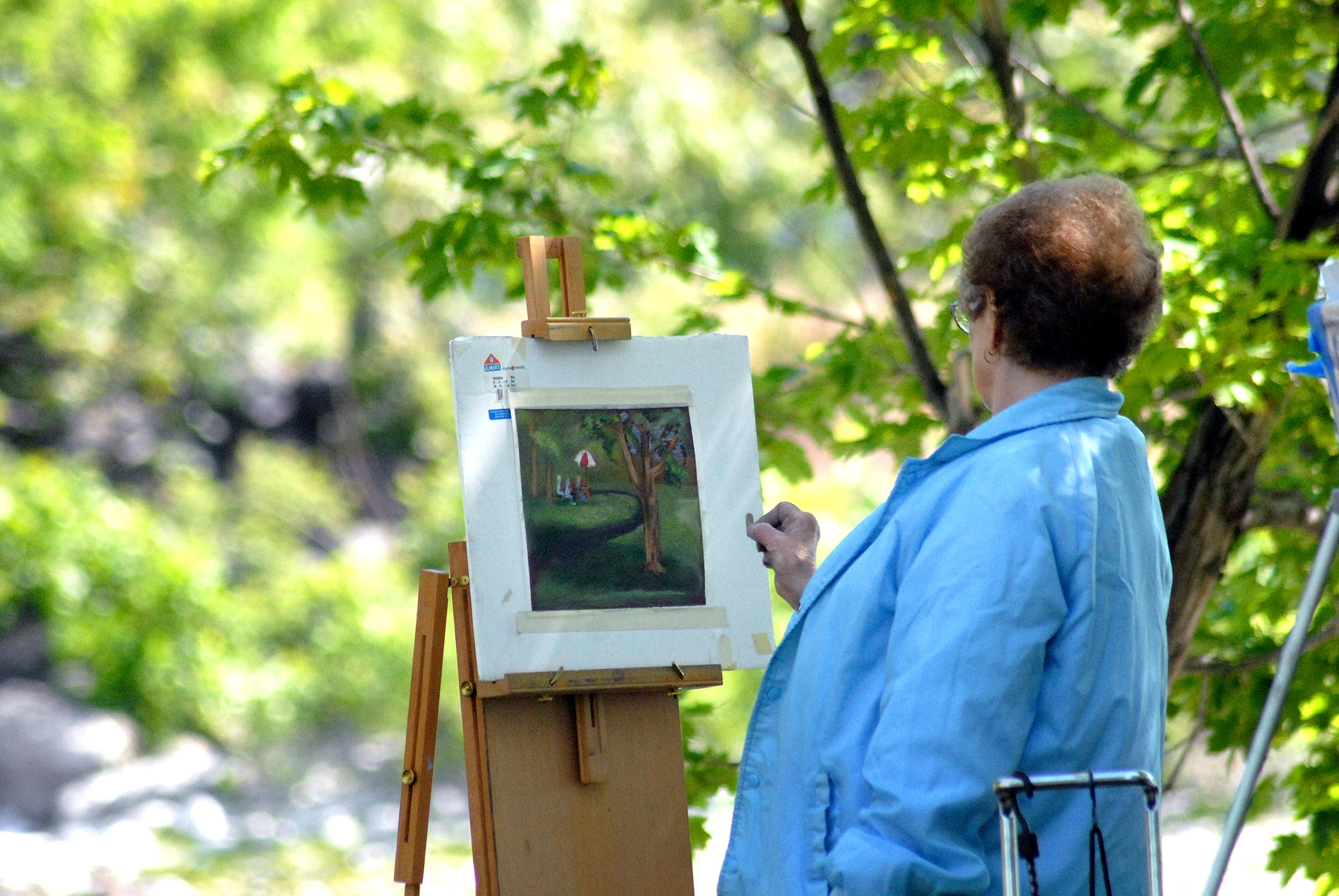 Artists and musicians called to Lewiston's downtown Art Walk