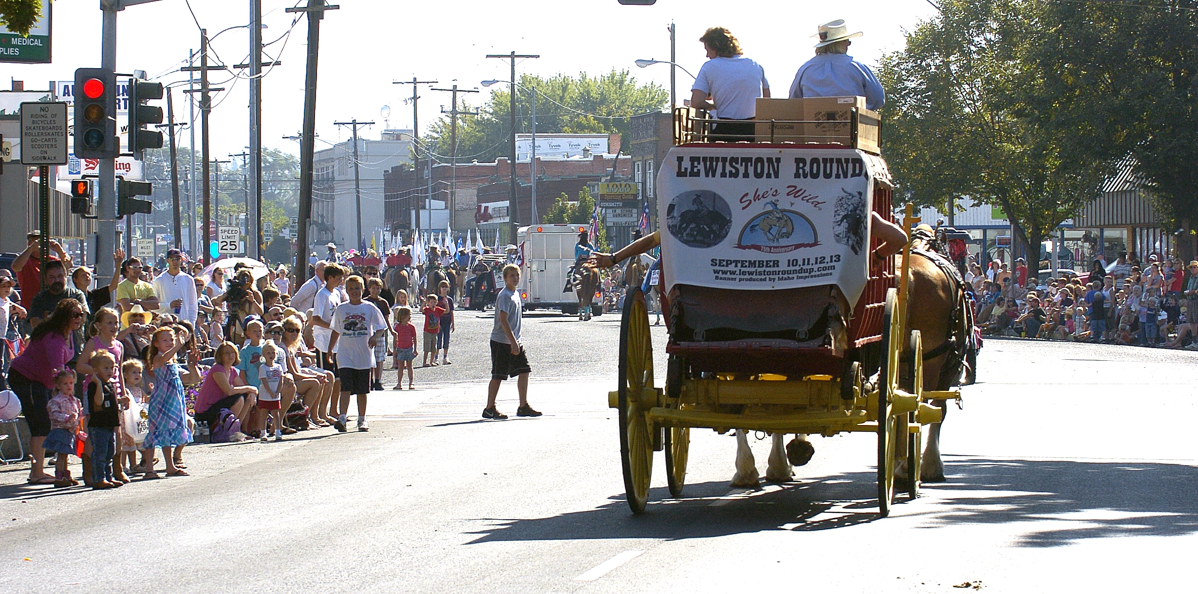 Entries are being accepted for the Lewiston Roundup Parade