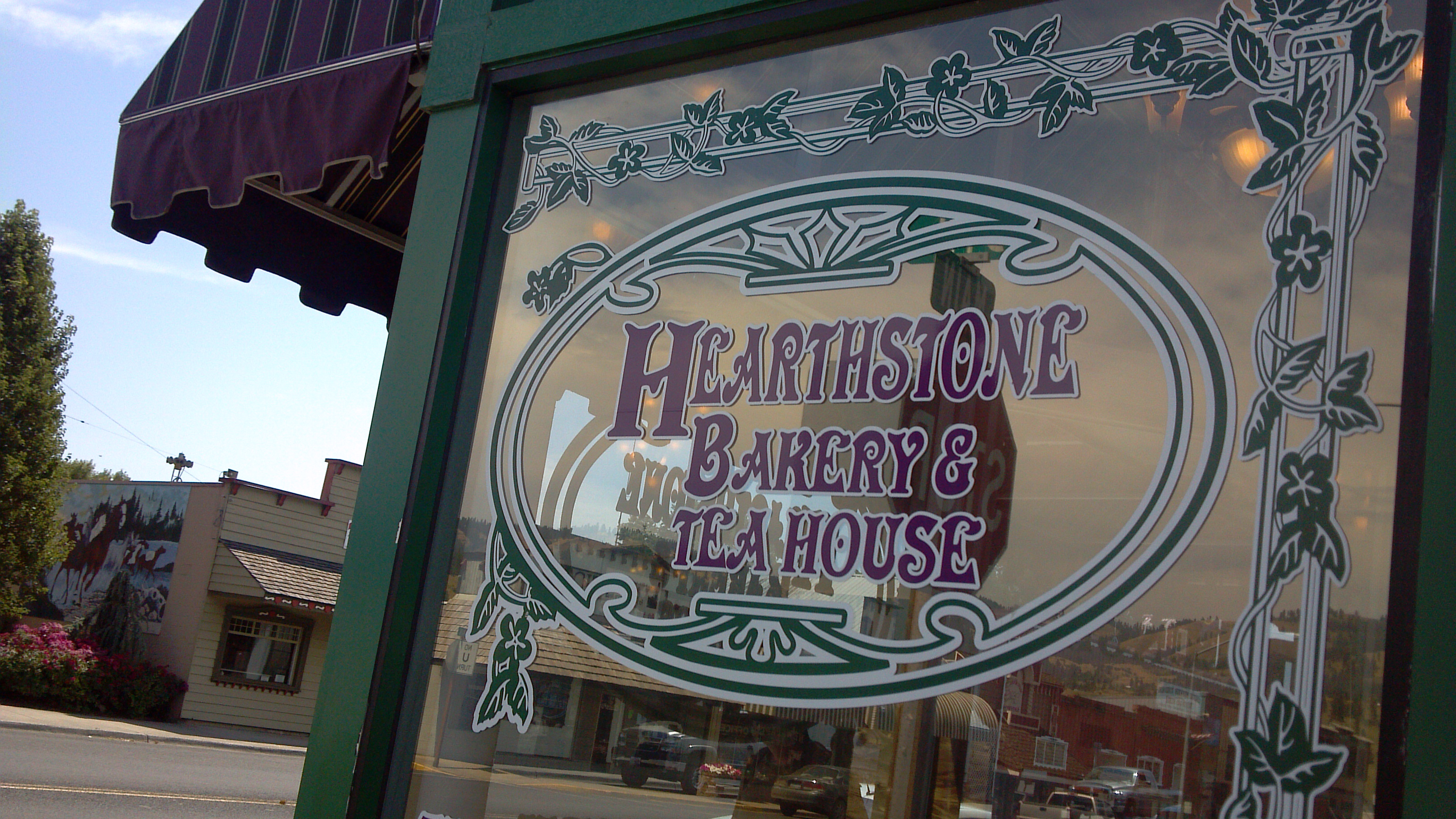 Foodie's Diary: Hearthstone Bakery and Tea House, Kamiah