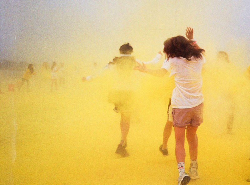 The color run craze comes to Moscow for Saturday's Colors of Hope 5K