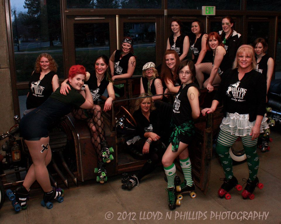 Rolling Hills Derby Dames face off against Rodeo City Rollergirls