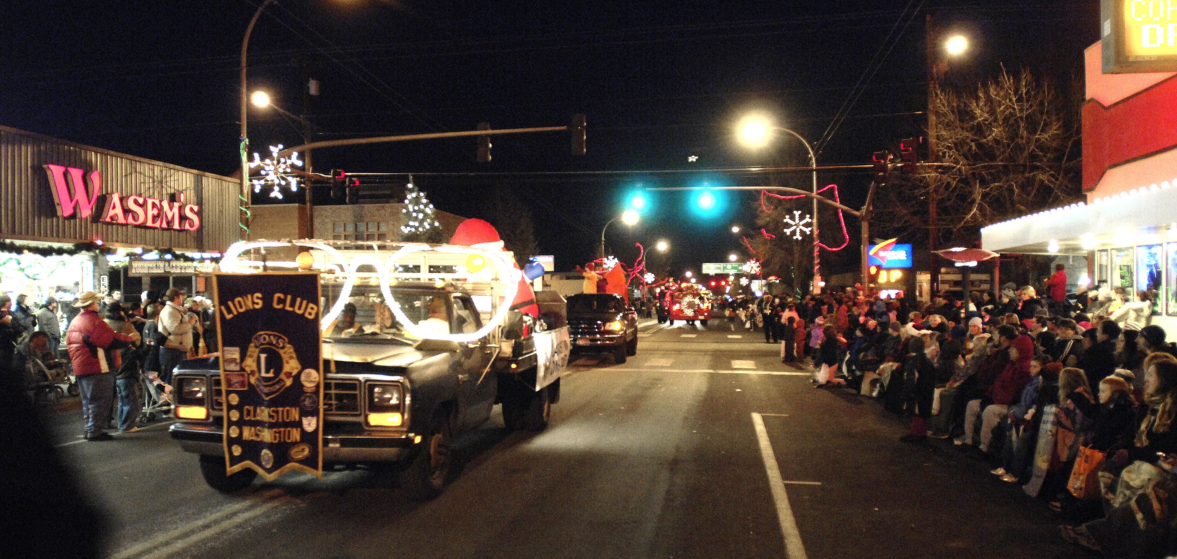 Clarkston's holiday parade draws hundreds each year.