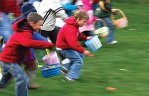 Release the kids: Easter egg hunts in the region