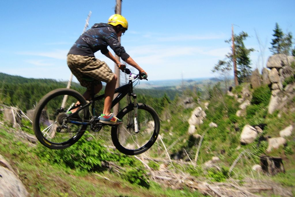 Breaking free: Whether it's Moscow Mountain or Hells Gate State Park, 'tis the season for mountain bike riding
