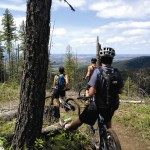 Bike enthusiasts and private landowners have collaborated to make Moscow Mountain a great place to trail ride.