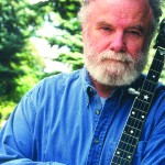 Bill Rossiter of Kalispell, Mont., sings and tells tall tales from around the west.