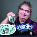 Jeanne Wood has seen artisan trends come and go over 40 years at Moscow Renaissance Fair.
