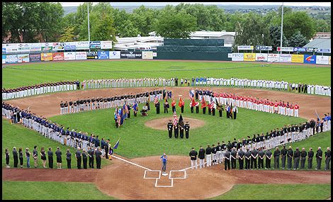 Fans young and old can meet Lewiston's Warrior Baseball team at Saturday's Hometown Pep Rally