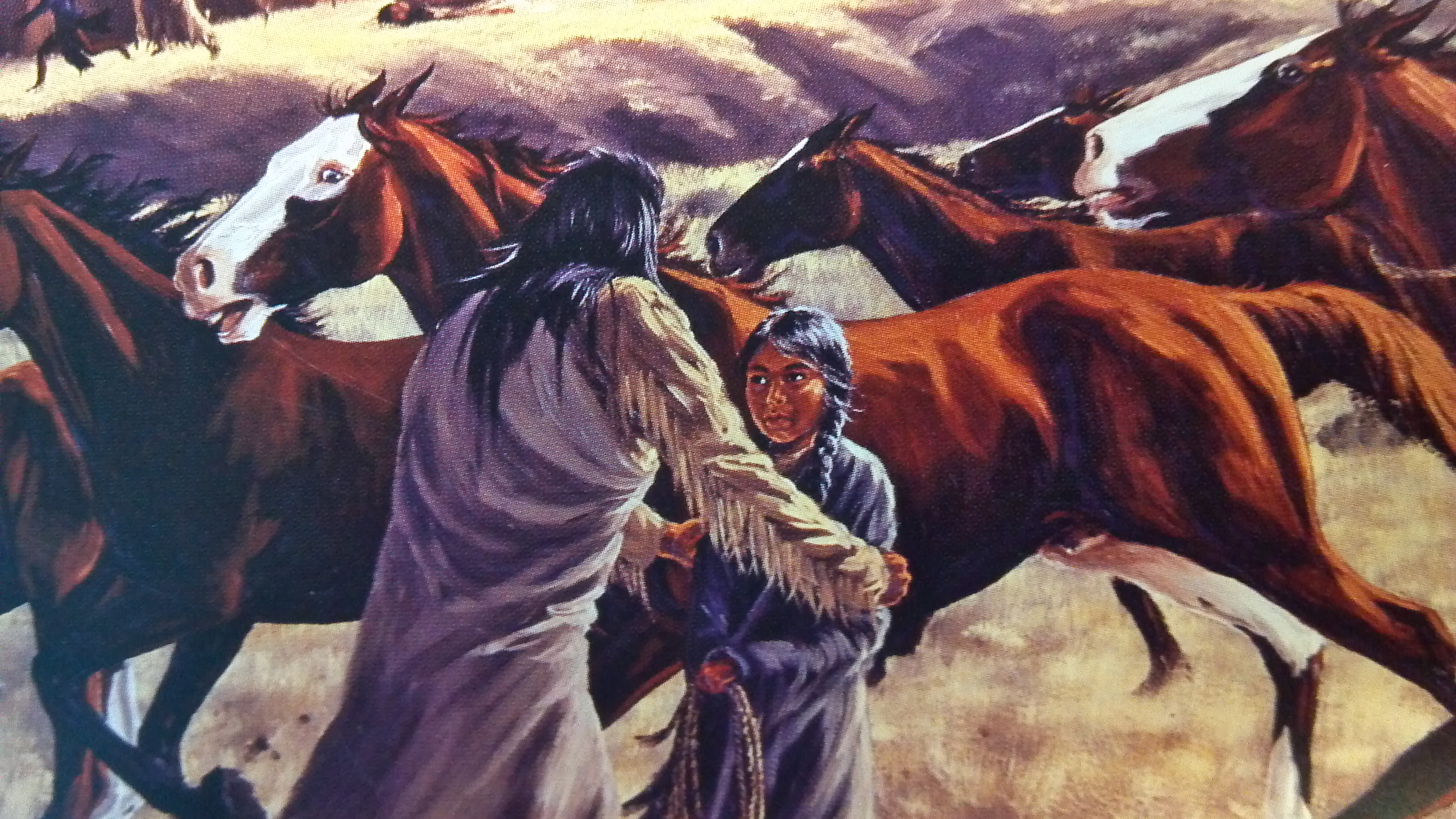 """""""Be Brave, Tah-hy:"""" Beautifully illustrated book follows the little known life of Chief Joseph's daughter"""