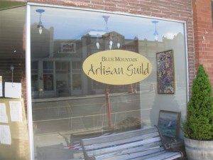 The Blue Mountain Artisan Guild will host a grand opening on both Friday and Saturday in conjunction with Tumbleweed and Pioneer Days.