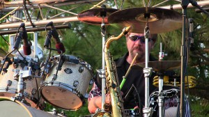 Dale Keeney, drummer of The Fabulous Kingpins, is an original member of the band.