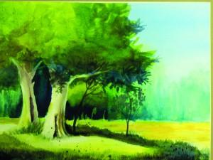 Hole - Shade Trees by Mary Bakker