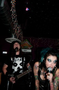 Nathan and Mandi Golla, of the band The Khind, perform together and co-own Crimson Reign Tattoo in Lewiston.