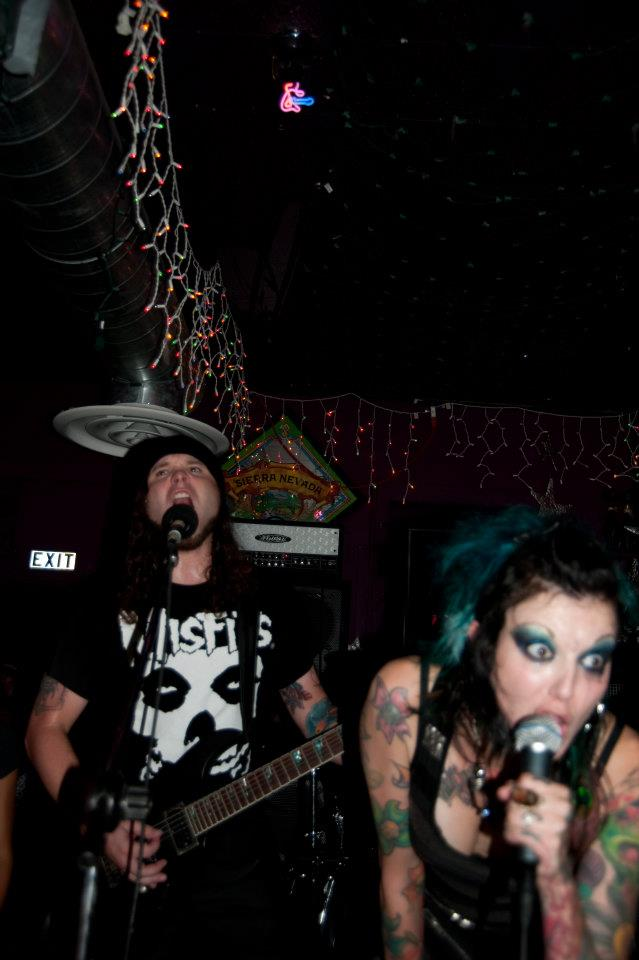 Punk rock pair finds love in Lewiston: Mandi, Nathan Golla are just The Khind for music, tattoos