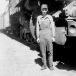 Robert Ashburn started his career as a fireman on a steam engine and ended it an engineer on a diesel train.