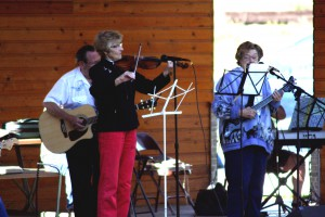 Lewis County Herald | Courtesy Local musicians perform at last year's Jam'n in the Park.