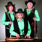 Cabin Fever Trio members, from left, Peggy Jezwinski, Barabara-Lee Jordan and Denise Hedrick.