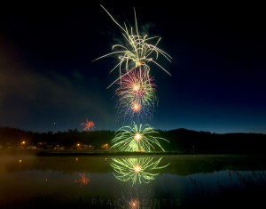 Elk River fireworks will shoot off around 9:45 p.m. at the airstrip.