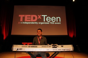 Kuha'o Case performed and spoke three months ago in New York as part of a TEDxTEEN event.