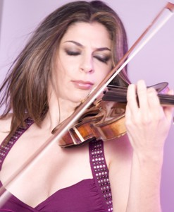 Violinist Lindsay Deutsch is one of the performers that play in the McCall and Cascade Summerfest 2013.