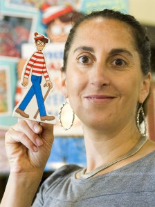 Jesica DeHart from BookPeople organized Where's Waldo on the Palouse, which begins July 1.