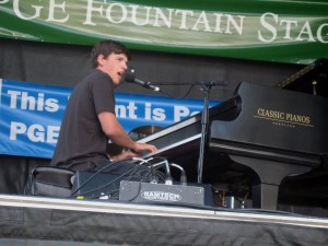 Brady Goss is one of eight performers for the Lewiston-area Summer Guitar Benefest, which takes place Friday. Goss is a vocalist and pianist.