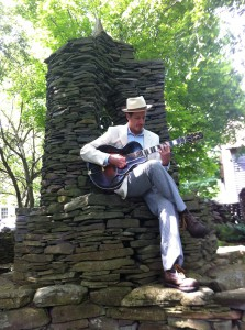 Guitarist and singer-songwriter Matt Munisteri is one of many musicians who will play at the McCall Jazz Festival.