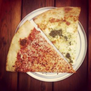 PsyRi band members posted photos on their Facebook page of each pizza they devoured during their West Coast tour. These slices were eaten before a Portland, Ore., performance.