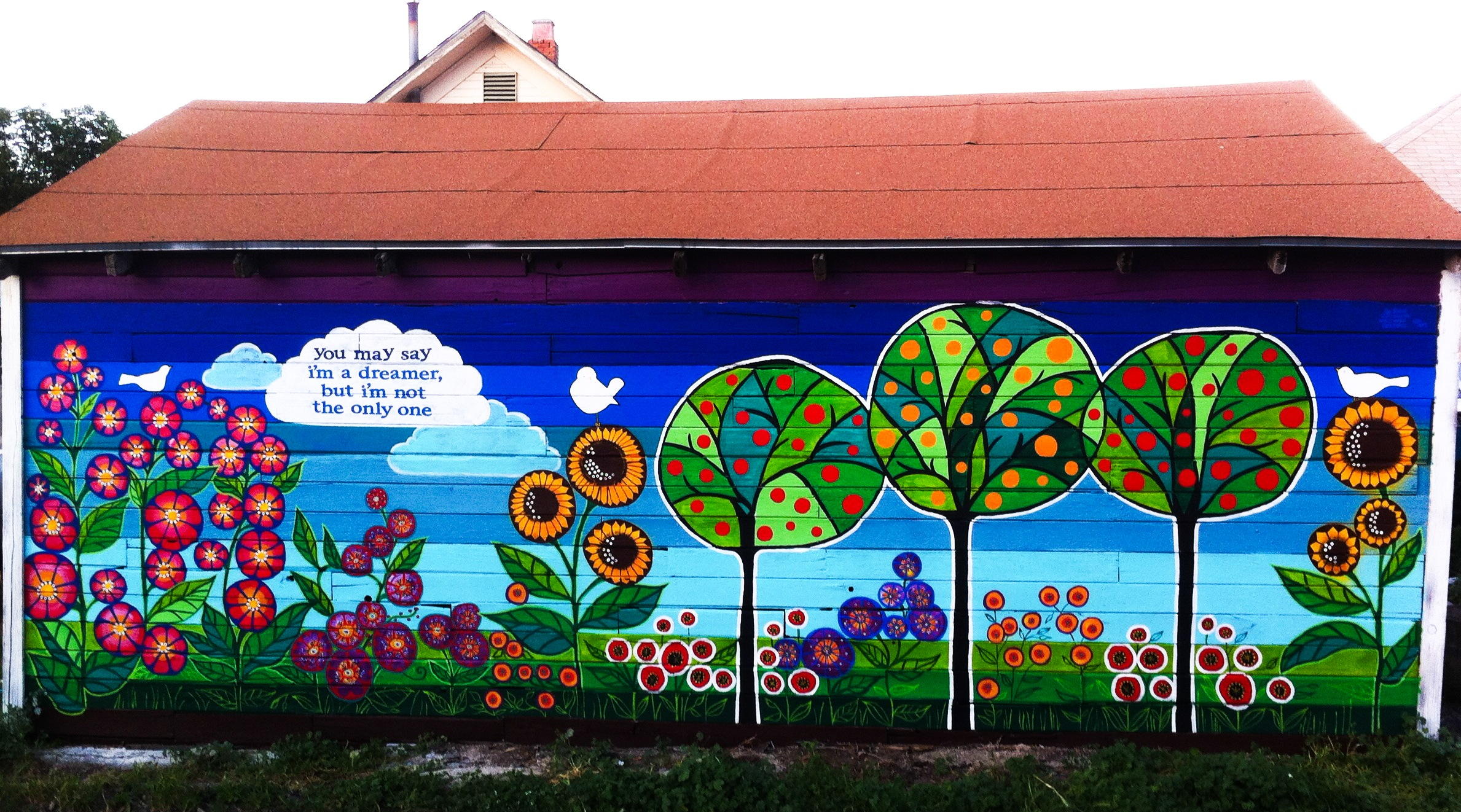 1000 images about community mural urban garden on pinterest for Mural garden