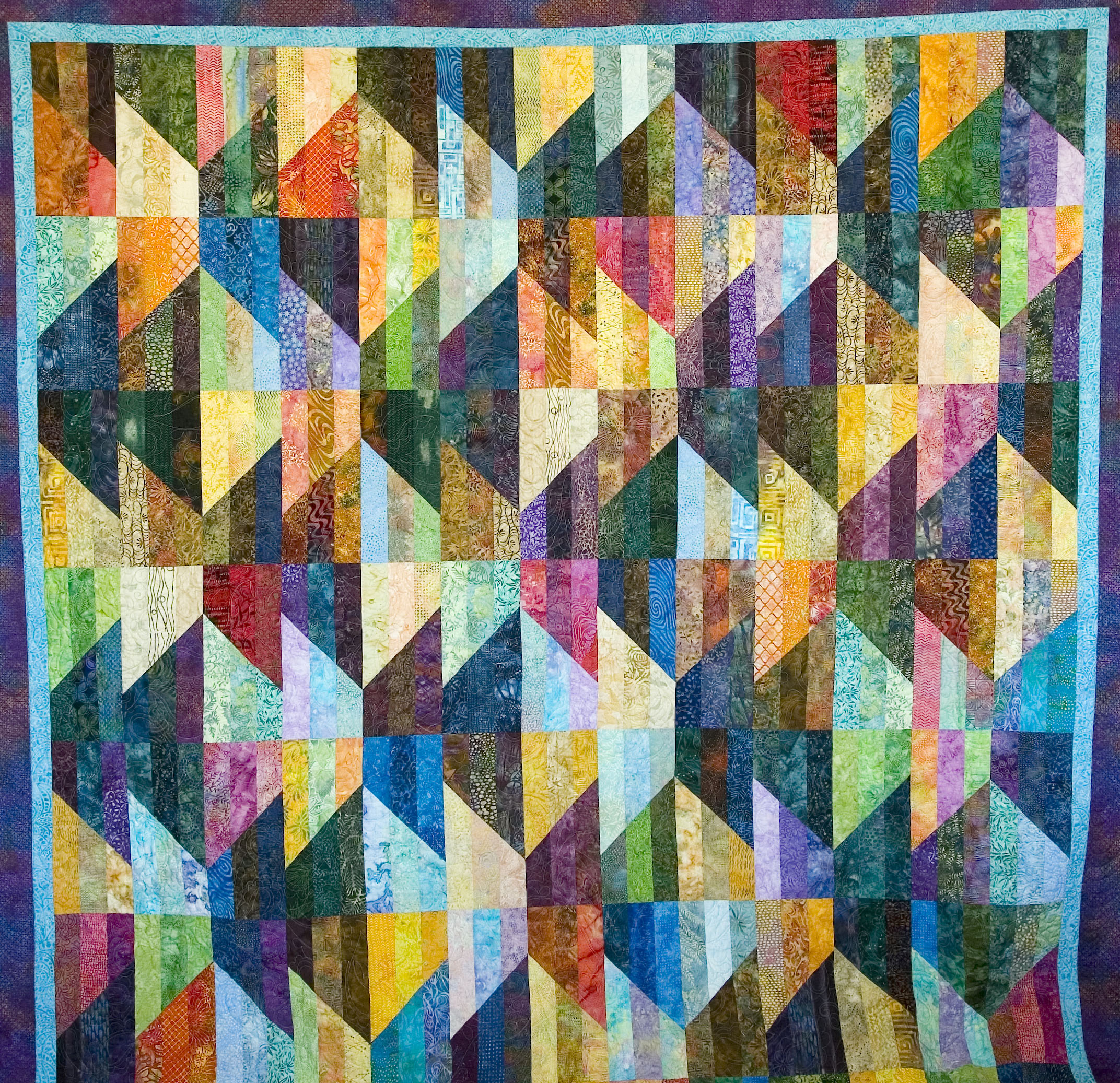 Peggy presents for Patchin' People: Oregon quilter featured for Fall Festival