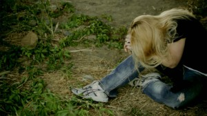 "A screen grab from ""It's Yours Forever,"" a zombie film by Normal Hill Studio."