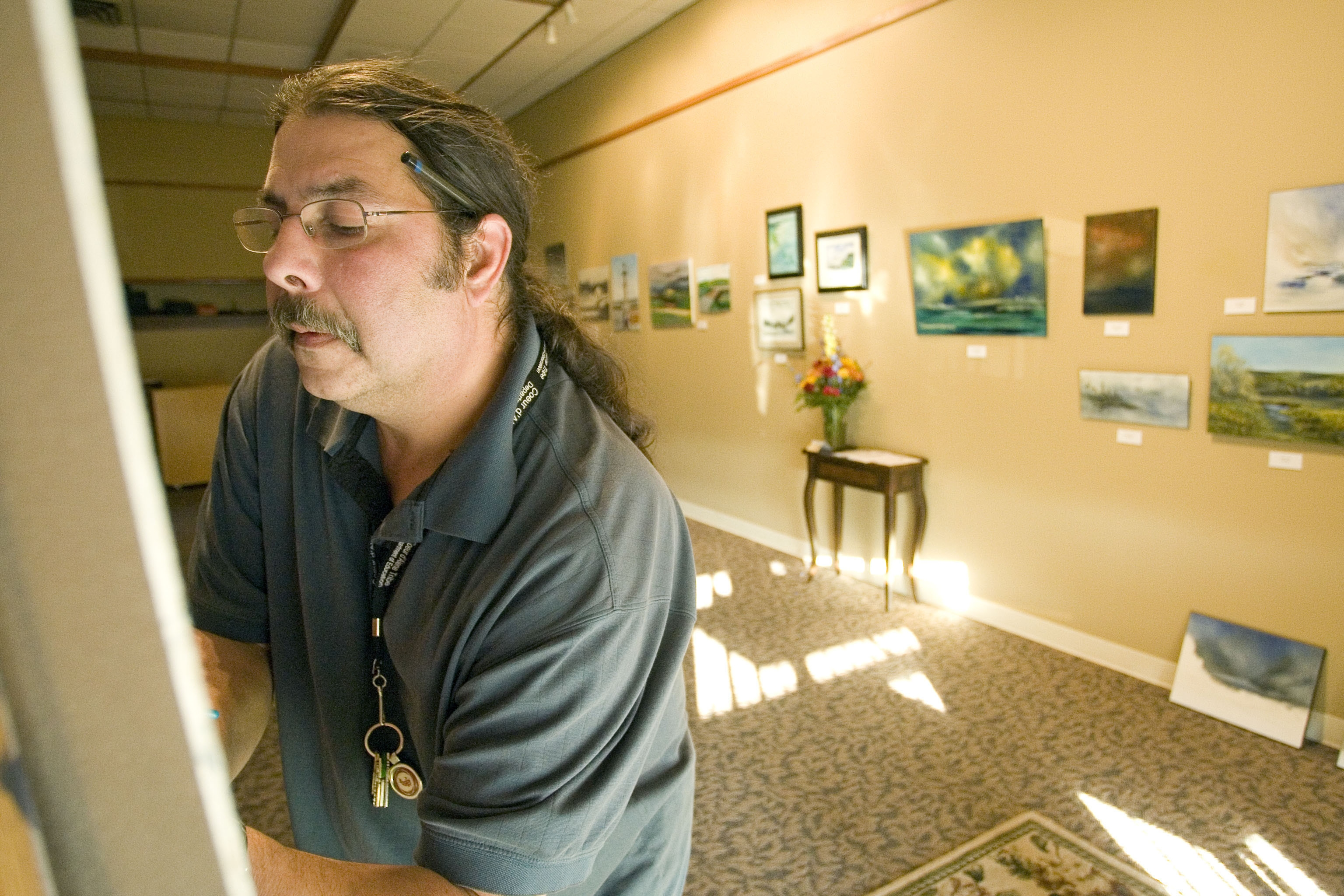 Pious paintings: Simpson United Methodist Church to host art shows