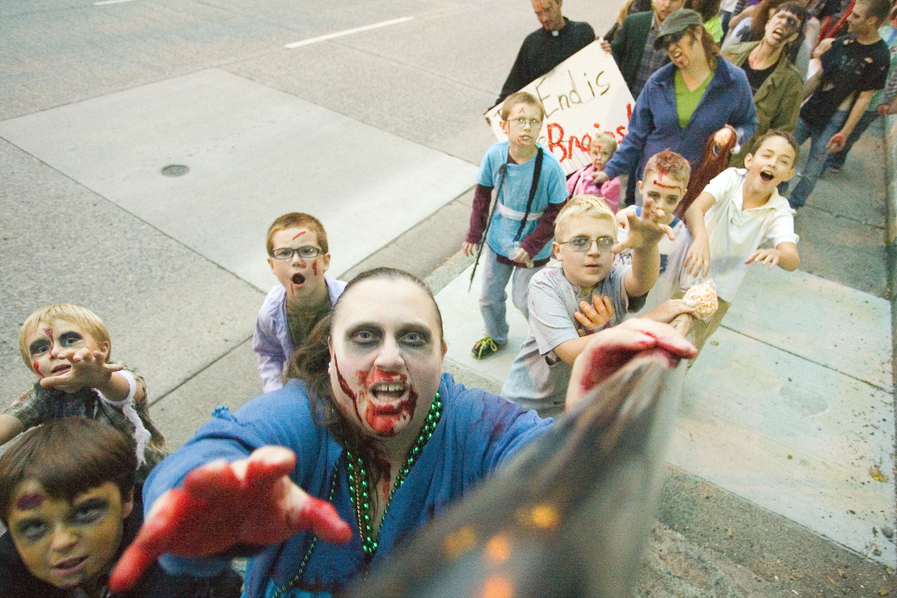 You Were There: Moscow's Zombie Walk