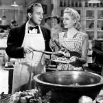 "Bing Crosby and Marjorie Reynolds in ""Holiday Inn."""