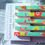 These decorative clothespin magnets by Julene Ewert can be found at Moscow's Winter Market.