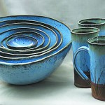 Pottery by Sally Chang, available at the Winter Market at the 1912 Center in Moscow Dec. 14.