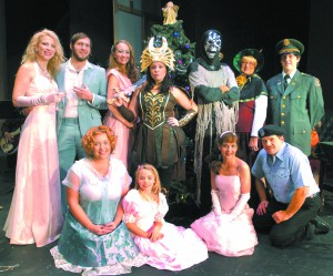 The cast of Santa's Workshop is rehearsing for a Nov. 21 opening at the Lewiston Civic Theater.