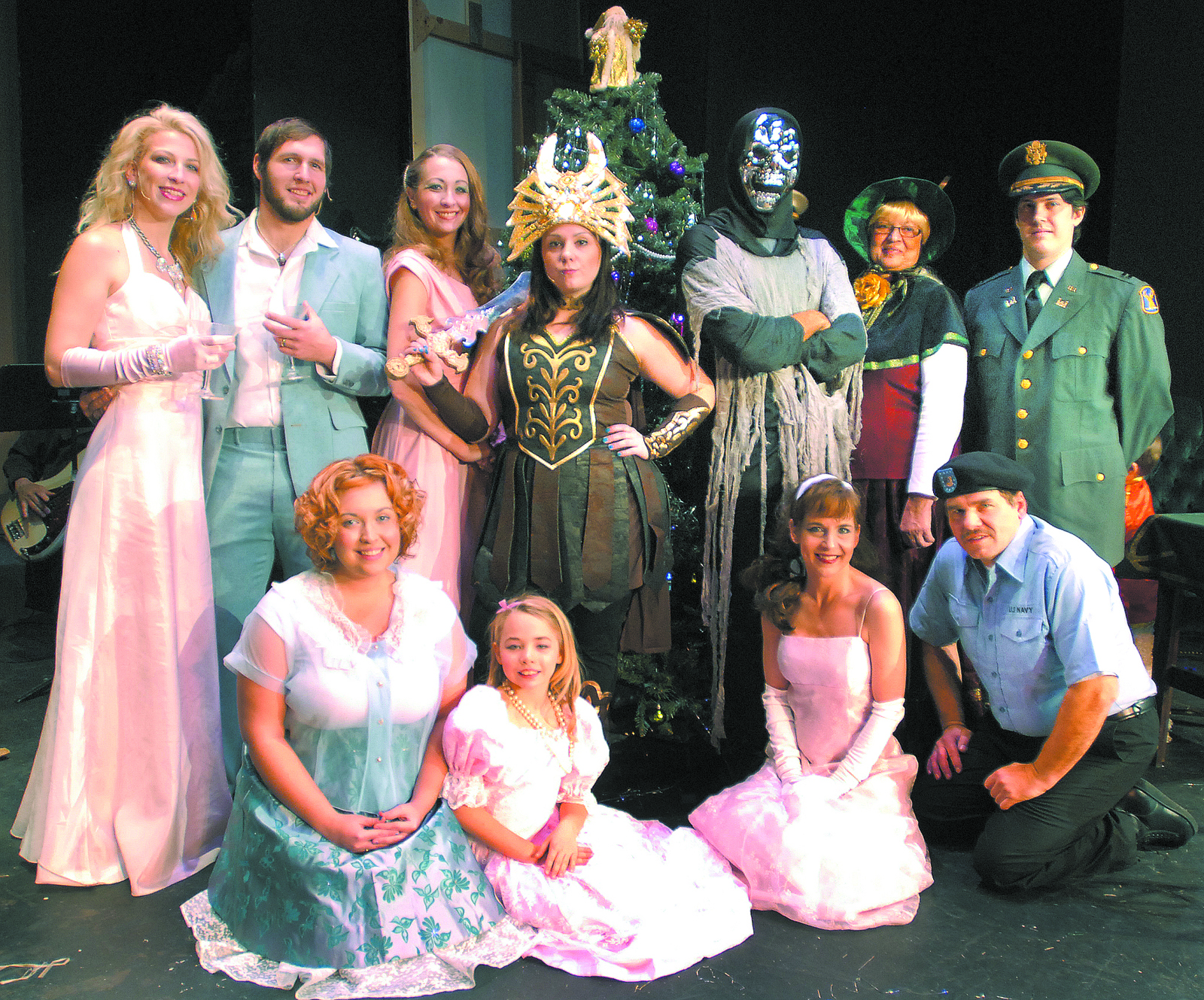 Toying with Christmas tunes: Lewiston Civic Theatre revue has a lot of 'Harmoney' in it