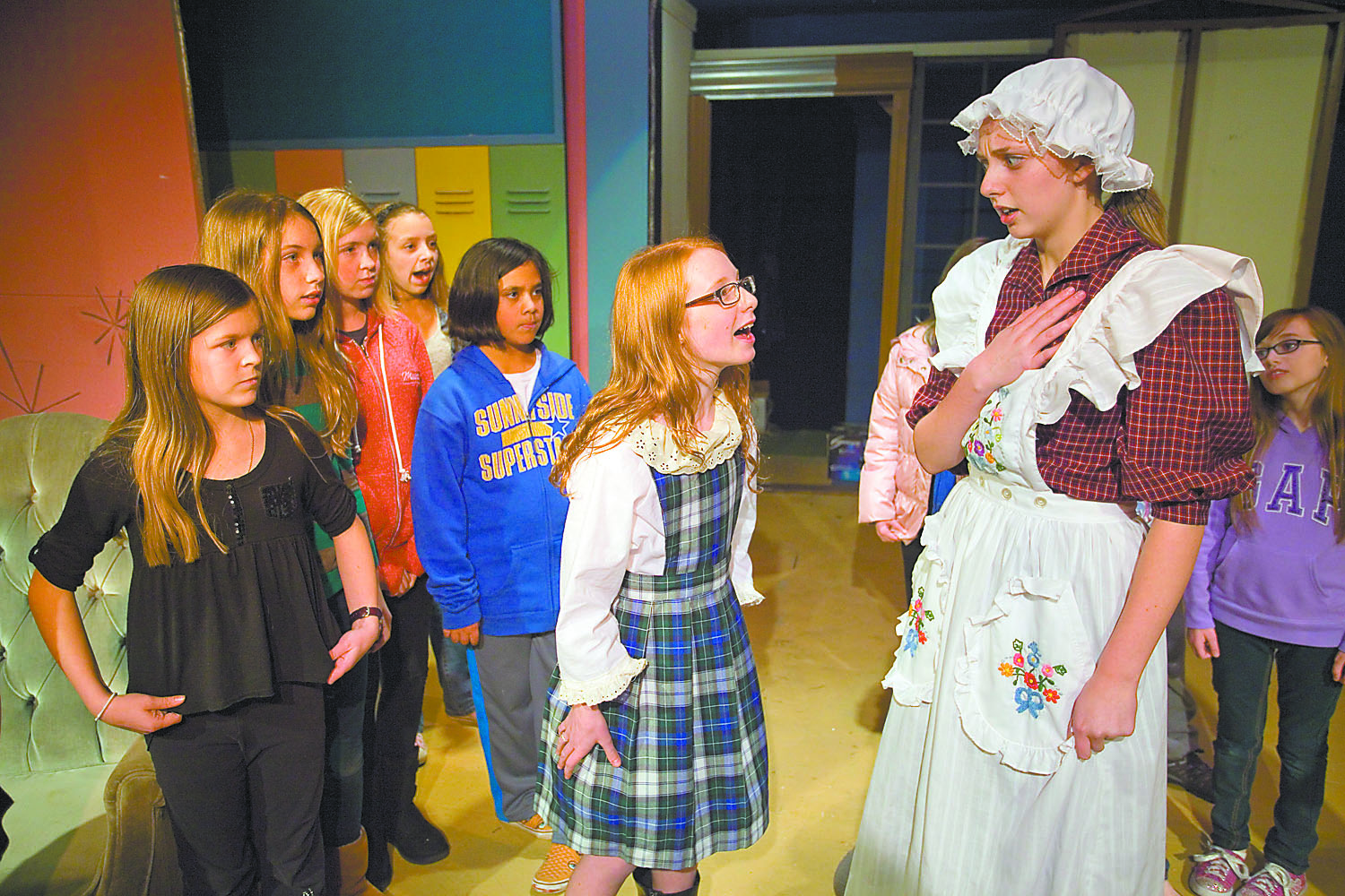 """Acting school: Students of Regional Theatre of the Palouse workshops present """"Madeline: The Musical"""""""