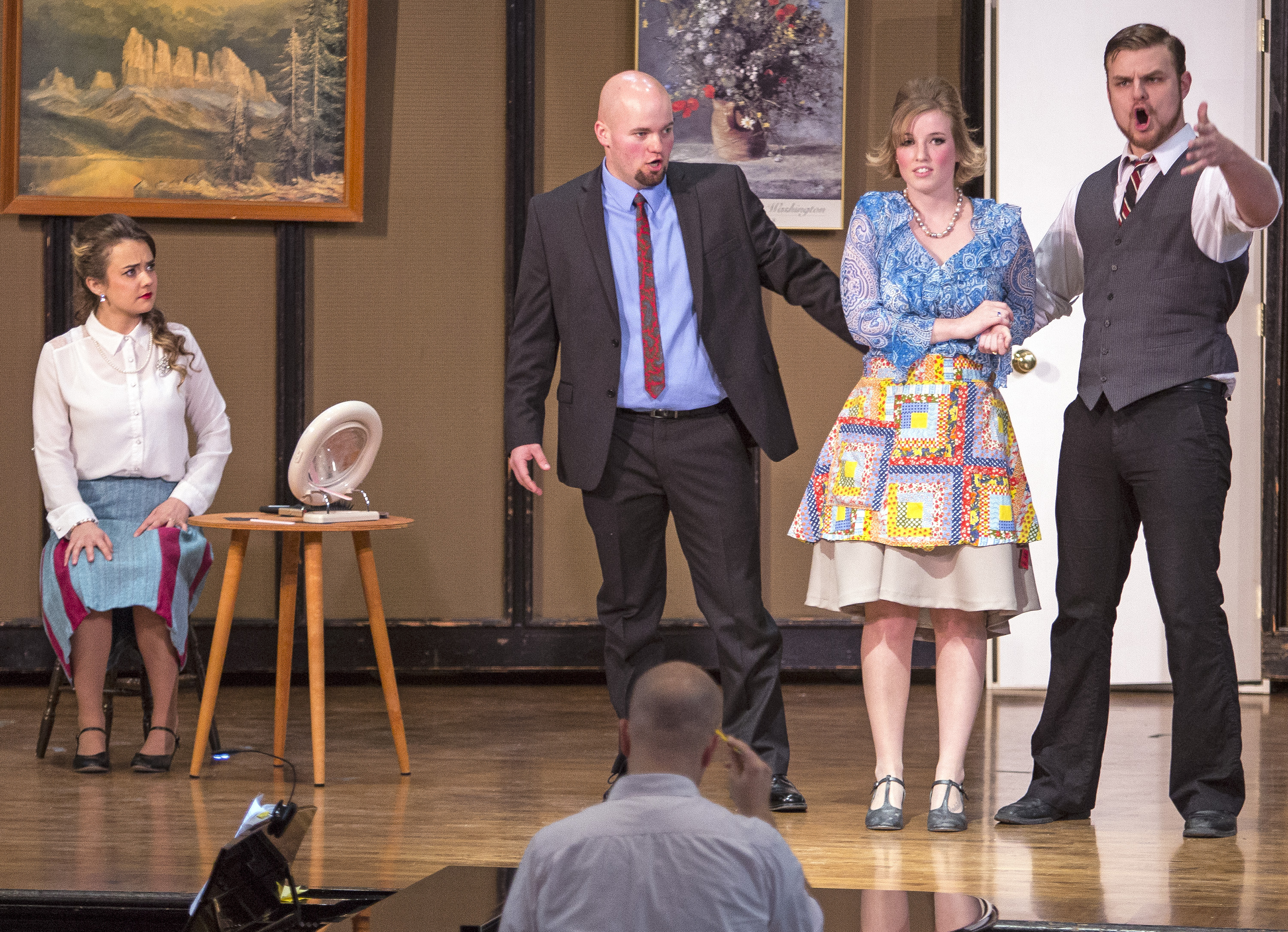 The Marriage of Mad Men: UI Opera blends the 18th and 20th centuries