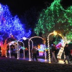 Locomotive Park comes alive as the tradition of Winter Spirit lights up the night Saturday, Nov. 23 in Lewiston.