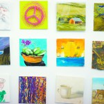The commission hand selected area artists to participate in their holiday sale.
