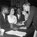As the Freedom Riders resigned to the fact that their ride was over, students from Nashville, Tennessee, led by Diane Nash, seen here in a photograph from 1960, gathered to take up where the original Freedom Riders ended their ride. To take up the Freedom Rides, the students had to choose to drop out of school to head to Birmingham. Ten students were chosen to continue the Ride. (AP Photo)