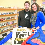 Jake and Beth Mackessy are the organizers of the PAC-Palouse pop culture and comic convention, which will be held Feb. 1 at the Scweitzer Events Center in Pullman. Jake and Beth are seen at Moscow's Safari Pearl, which is sponsoring the costume contest.
