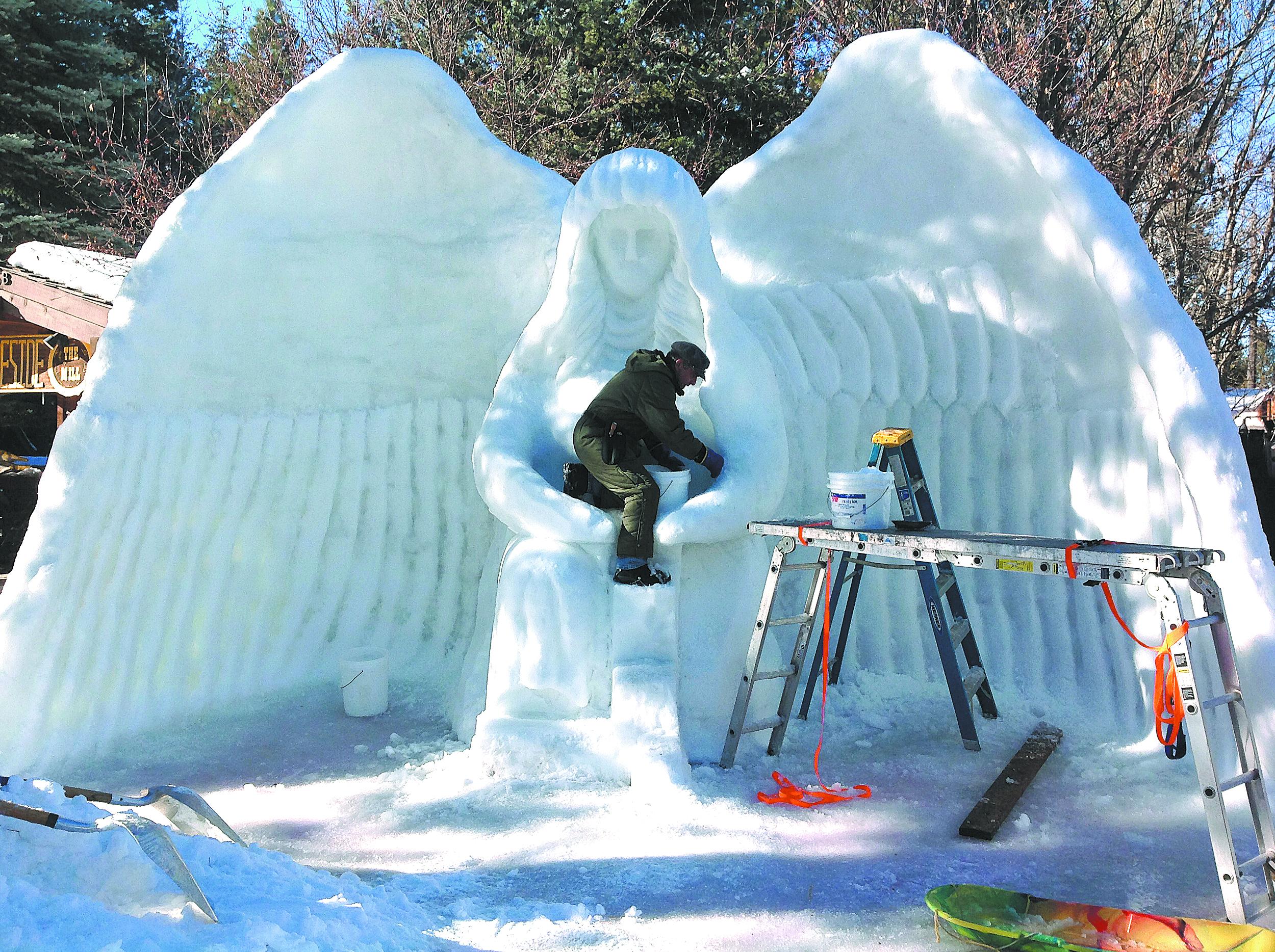 Beyond snowmen: World-class sculptors flock to McCall's Winter Carnival