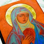 Icons are seen as a communion between heaven and earth and the divine and human.