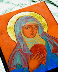 Touching God with a paintbrush: St. Gertrude's retreat explores the spiritual aspects of iconography